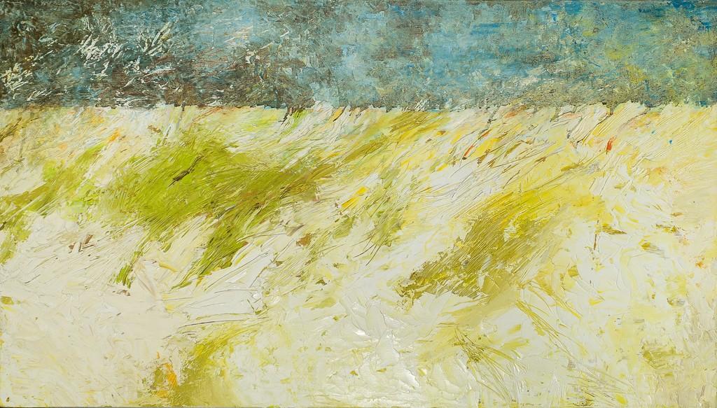 Prato - olio e tecnica mista su tavola - 74x98 cm