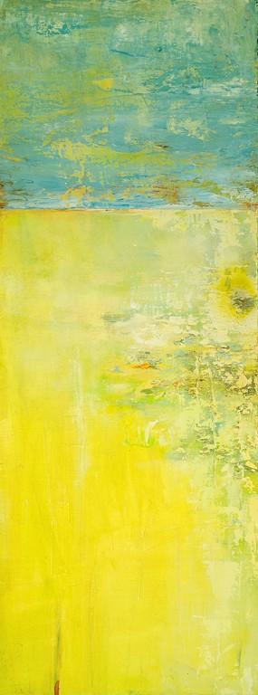 Acquitrino - olio su tavola - 70X32 cm